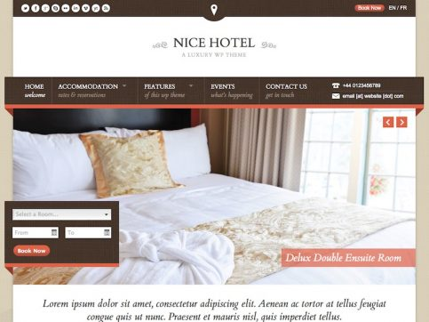 Nice WordPress Theme