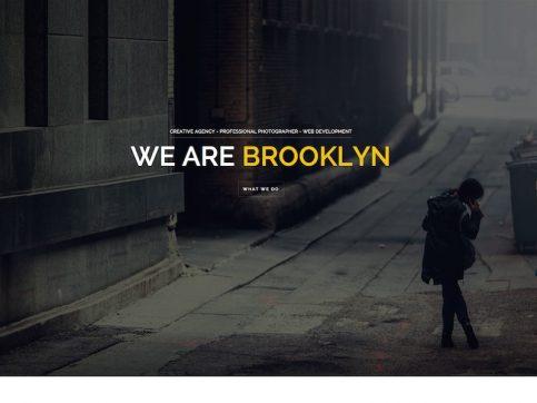 Brooklyn Creative One Page Multi-Purpose WordPress Theme