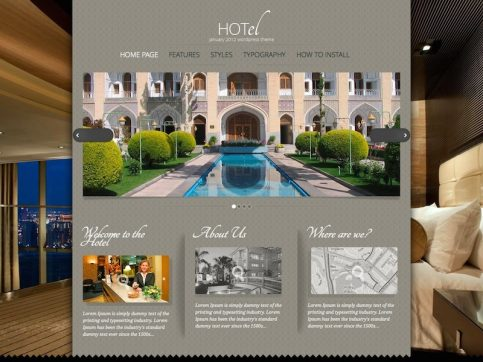 Hot Hotel WordPress Theme