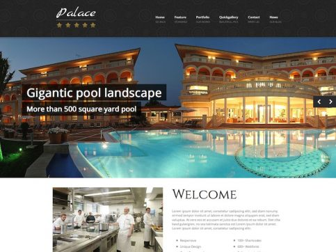 Palace WordPress Theme