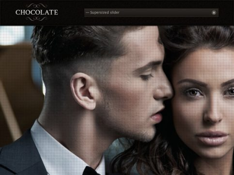 Chocolate Responsive Photography WordPress Theme