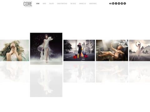 Core Photography WordPress Theme
