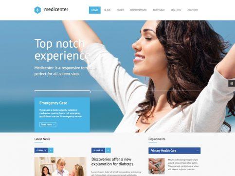 MediCenter Medical WordPress Theme