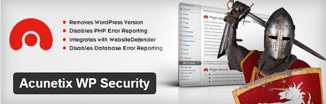 Acunetix WP Security Plugin