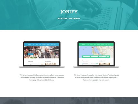 Jobify Job Board WordPress Theme