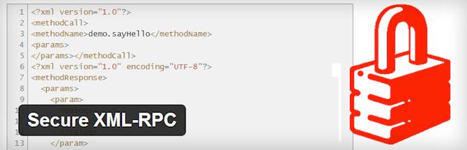 Secure XML-RPC Plugin