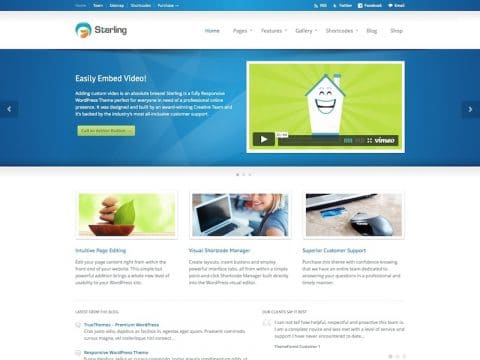 Sterling WP Theme