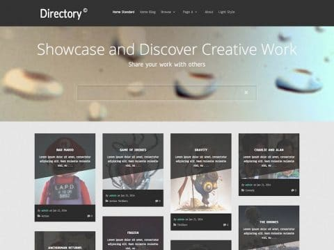 The Directory WP Theme