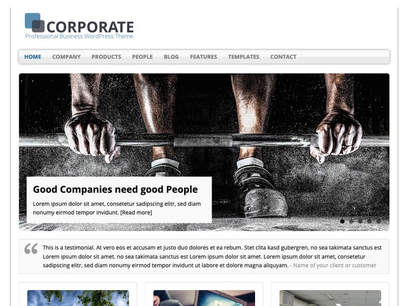 Preview MH Corporate basic
