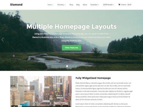 Diamond Directory WordPress Theme