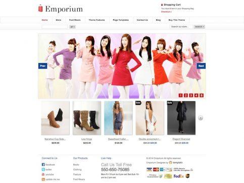 Emporium eCommerce WordPress Theme