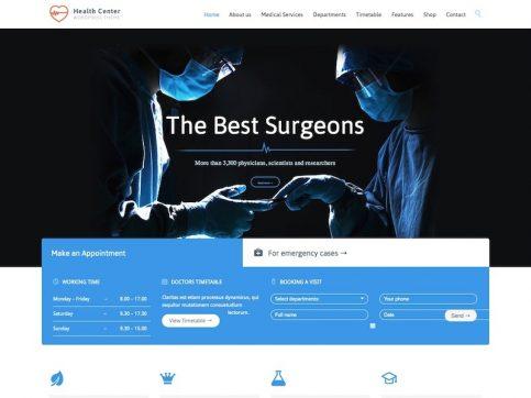 Health Center Medical WordPress Theme