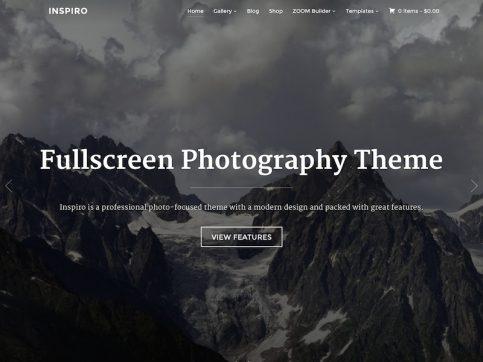 Inspiro Photography WordPress Theme
