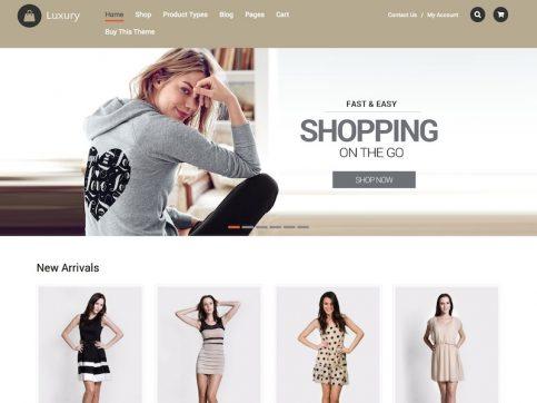 Luxury eCommerce WordPress Theme