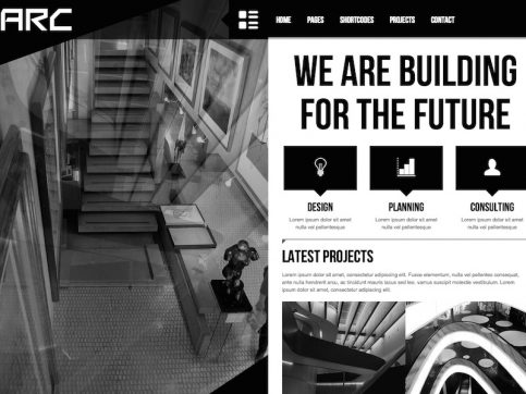 Arc Business WordPress Theme