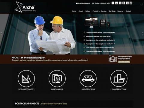 Arche WordPress Theme