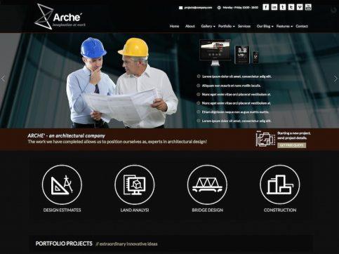 Arche Business WordPress Theme