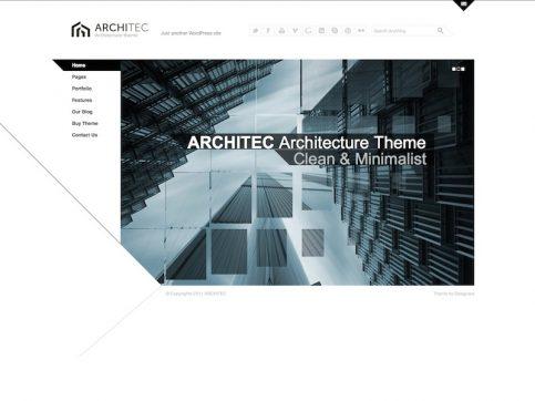 Architec Portfolio WordPress Theme