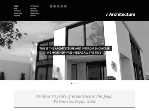 Architecture WP Theme