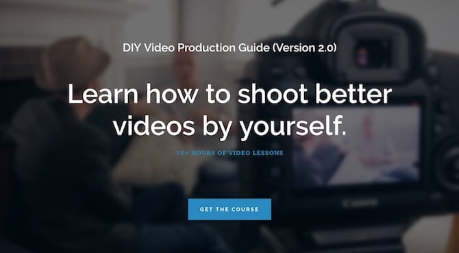 DIY Video Guy Sales Page