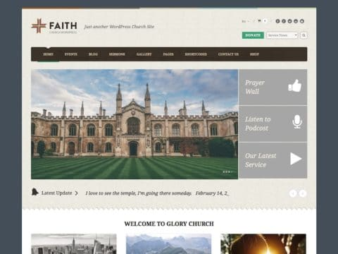 Faith WP Theme
