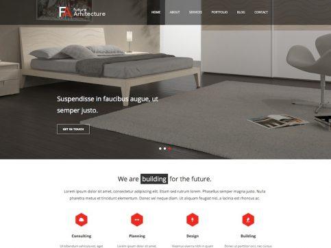 Future Architecture WordPress Theme