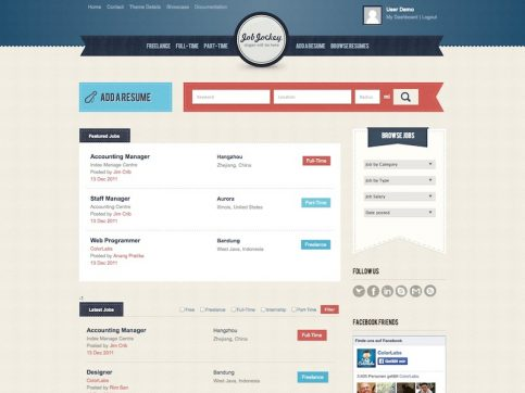 JobJockey Job Board WordPress Theme