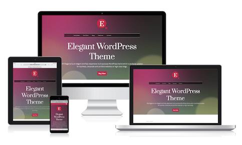 MH Elegance WordPress Theme