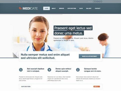 Medicate Medical WordPress Theme