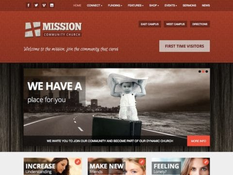 Mission Charity WP Theme