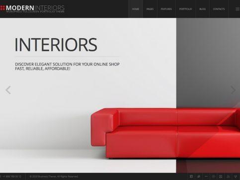 Modern Interiors WordPress Theme