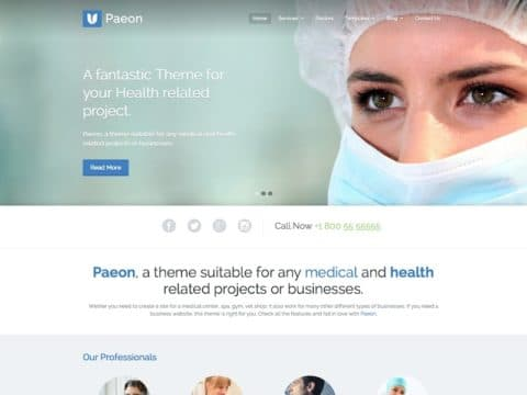 Paeon Medical WP Theme