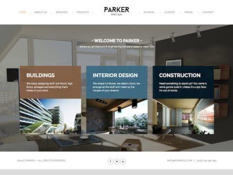 Parker WordPress Theme