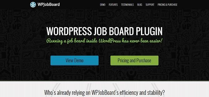 WP JobBoard Plugin