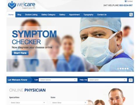 Welcare Medical WordPress Theme