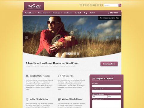 Wellness Medical WordPress Theme