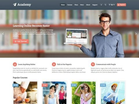 Academy WP Theme