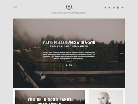 Arwyn WordPress Theme