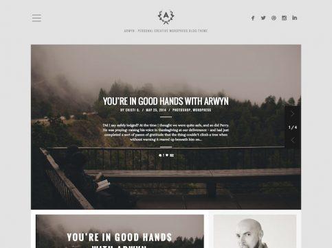 Arwyn Blog WordPress Theme