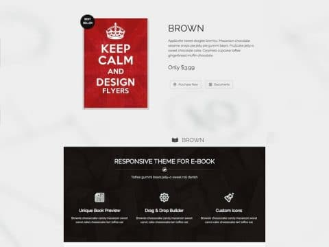 Brown WordPress Theme