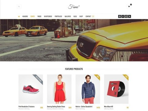 Fame Fashion WordPress Theme