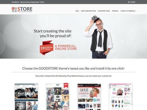 GoodStore WooCommerce WordPress Theme