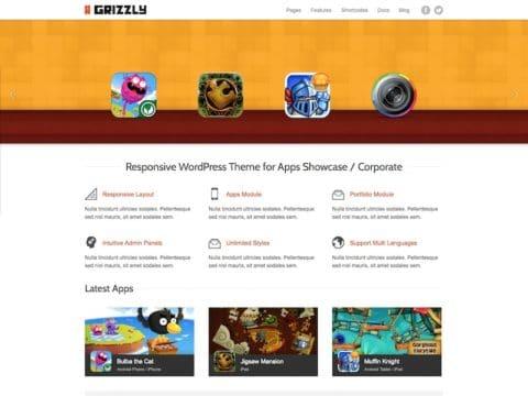 Grizzly WordPress Theme