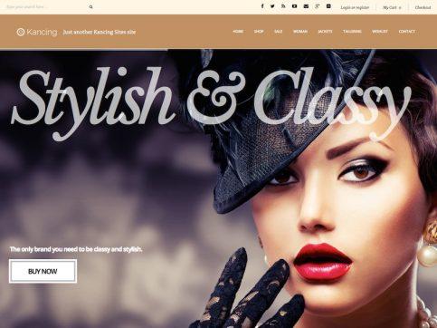 Kancing Fashion WordPress Theme