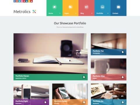 Metrolics WordPress Theme