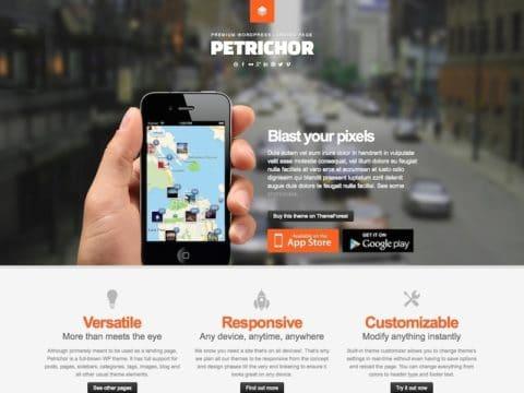 Petrichor WordPress Theme