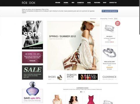 RoeDok WooCommerce WordPress Theme