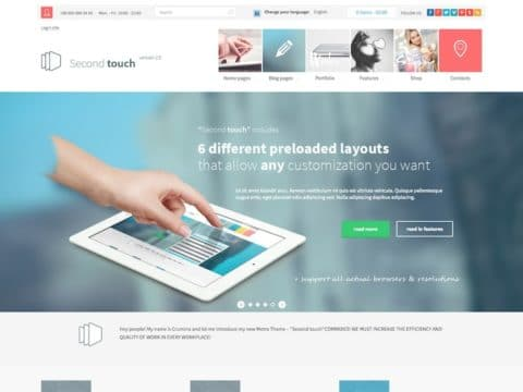 Second Touch WP Theme