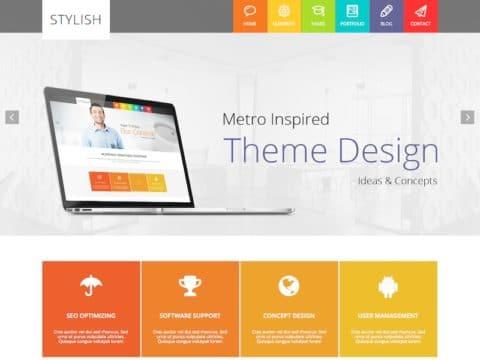 Stylish WordPress Theme