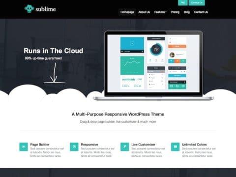 Sublime WordPress Theme
